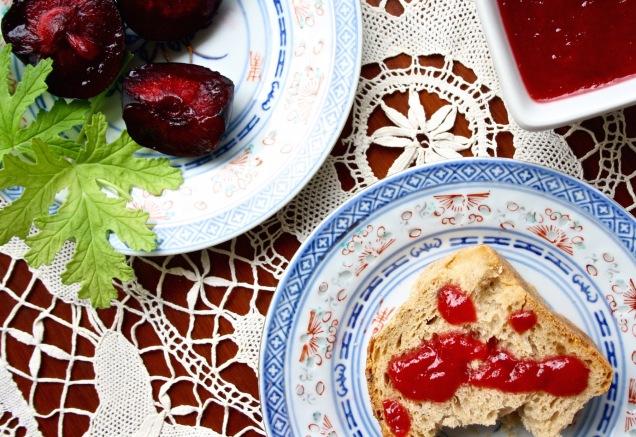 how to make homemade plum jam